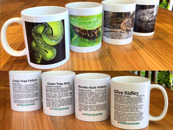 coffee mugs with animal picture