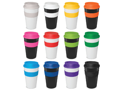 different styled keep cups