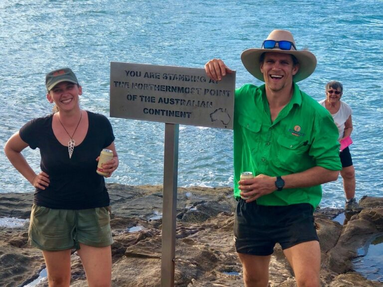 Cape York Guides at the tip