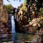 Nitmiluk (Katherine) Gorge with waterfalls