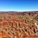 Aerial picture of Purnululu, The Bungle Bungles