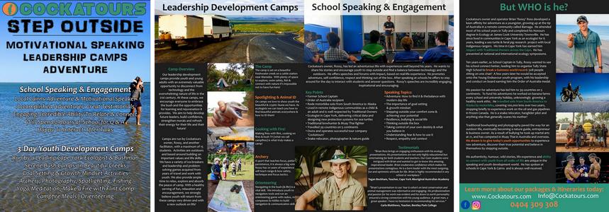 brochure for speaker